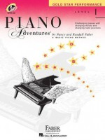 Level 1 - Gold Star Performance with CD: Piano Adventures - Nancy Faber, Randall Faber