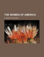 The Women of America - Elizabeth McCracken