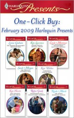 One-Click Buy: February 2009 Harlequin Presents - Lynne Graham, Kim Lawrence, Carole Mortimer, Sarah Morgan, Kate Walker, Kate Hewitt, Robyn Grady, Nicola Marsh