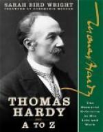 Thomas Hardy A to Z - Sarah Bird Wright