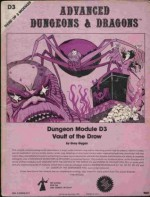 Vault of the Drow (Advanced Dungeons & Dragons module D3) - Gary Gygax