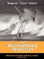 Accounting Principles, with Pepsico Annual Report, Problem Solving Survival Guide, Volume I, Chapters 1-13 - Jerry J. Weygandt, Donald E. Kieso, Paul D. Kimmel