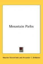 Mountain Paths - Maurice Maeterlinck