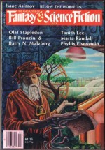 The Magazine of Fantasy and Science Fiction, July 1979 - Edward L. Ferman, Phyllis Eisenstein, Tanith Lee, George Zebrowski, Olaf Stapledon, Isaac Asimov, Barry N. Malzberg