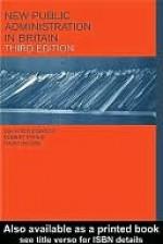 New Public Administration in Britain - John Greenwood, Robert Pyper, David Wilson