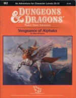 Vengeance of Alphaks (Dungeons and Dragons Master Module M2) - Skip Williams