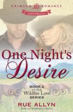 One Night's Desire - Rue Allyn