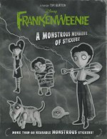 Frankenweenie A Monstrous Menagerie of Stickers! - Tim Burton