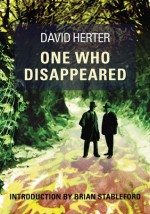 One Who Disappeared - David Herter