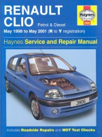 Renault Clio Service and Repair Manual (May 98-01) - Peter Gill