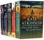 5 books collection: Started Early, Took My Dog, Case Histories, One Good Turn, When Will There be Good News, Behind the Scenes at the Museum - Kate Atkinson