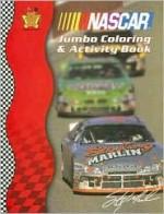 NASCAR Jumbo Coloring & Activity Book [With Doorknob Hanger] - Bendon Publishing