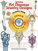365 Art Nouveau Jewelry Designs CD-ROM and Book - Rene Beauclair, Dover Publications Inc.
