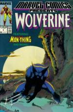 Marvel Comics Presents #8 : Wolverine, Man-Thing, Master of Kung Fu, & Iron-Man (Marvel Comic Book 1988) - Chris Claremont, Doug Moench, Steve Gerber, Sholly Fisch, John Buscema, Tom Grindberg, Tom Sutton, Javier Saltares