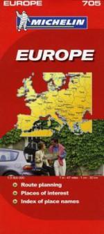 Michelin Europe Map - Michelin Travel Publications