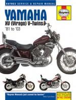 Yamaha XV Virago V-twins Service and Repair Manual: 1981 to 2003 (Haynes Service & Repair Manuals) - Alan Ahlstrand, John Harold Haynes