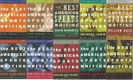 10 Volumes of The Best American Sports Writing: 2000-2008 with Bonus 1998 [The Best American Series] - G.Stout, William Nack, Bill Littlefield, Michael Lewis, David Maraniss, Mike Lupicia, Richard Ben Cramer, Bud Collins, Buzz Bissinger, Rick Reilly Dick Schaap