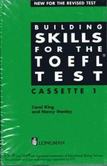 Building Skills for the TOEFL Test Set of 4 Cassettes - Addison Wesley Longman, Carol King