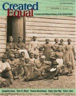Created Equal: A Social and Political History of the United States, Volume I (to 1877) - Peter H. Wood, Thomas Borstelmann