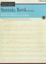Stravinsky, Bartok and More: Cello, Volume VIII [With CD] - Igor Stravinsky, Béla Bartók