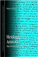 Heidegger and Aristotle: The Twofoldness of Being - Walter Brogan, Dennis Schmidt