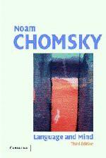 Language and Mind - Noam Chomsky