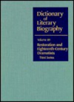 Restoration And Eighteenth Century Dramatists - Paula R. Backscheider