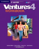 Ventures Level 4 Workbook with Audio CD - Gretchen Bitterlin, Dennis Johnson, Donna Price, Sylvia Ramirez, K. Lynn Savage