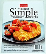 America's Test kitchen - The Best SIMPLE RECIPES Magazine - Recipes That Work. 2013. - Christopher Kimball