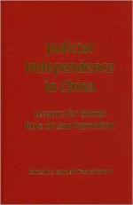 Judicial Independence in China - Randall Peerenboom