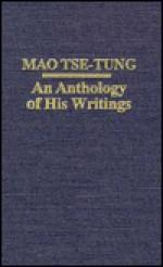 Mao Tse-Tung: An Anthology of His Writings - Mao Tse-tung, Anne Fremantle