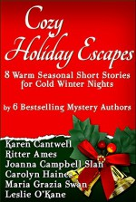 Cozy Holiday Escapes: Warm Seasonal Short Stories by Bestselling Mystery Authors for Cold Winter Nights - Ritter Ames, Karen Cantwell, Carolyn Haines, Leslie O'Kane, Joanna Campbell Slan, Maria Grazia Swan