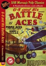 G-8 and His Battle Aces #2 November 1933 - Robert J. Hogan, RadioArchives.com, Will Murray