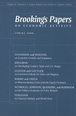 Brookings Papers on Economic Activity, Spring 2008 - Douglas W. Elmendorf, N. Gregory Mankiw, Lawrence H. Summers