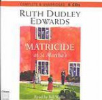 Matricide at St. Martha's - Ruth Dudley Edwards, Bill Wallis