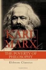 The Poverty of Philosophy - Karl Marx