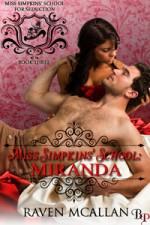 Miss Simpkins' School Miranda - Raven McAllan
