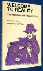 Welcome to Reality: The Nightmares of Philip K. Dick - Uwe Anton, Philip K. Dick, Jim Young