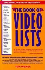 Book of Video Lists 1991 - Tom Weiner