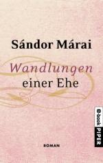 Wandlungen einer Ehe: Roman (German Edition) - Sándor Márai, Christina Viragh