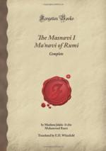 The Masnavi I Ma'navi Of Rumi: Complete (Forgotten Books) - Rumi