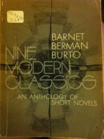 Nine Modern Classics An Anthology of Short Novels - Sylvan Barnet, Morton Berman, William Burto