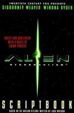 Alien Resurrection Scriptbook - Ben Mezrich, HarperPrism Staff