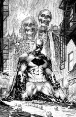 Batman Black and White #1 - Chip Kidd, Neal Adams, Joseph A. Quinones Jr., Maris Wicks, John Arcudi, Howard Mackie, Sean Murphy, Michael Cho, Chris Samnee, Marc Silvestri