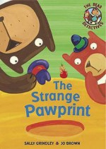The Strange Pawprint - Sally Grindley, Jo Brown