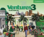 Ventures 3 Class Audio CD - K. Lynn Savage, Gretchen Bitterlin, Dennis Johnson