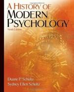 A History of Modern Psychology - Duane Schultz, Sydney Ellen Schultz