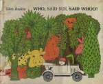 Who, Said Sue, Said Whoo? - Ellen Raskin