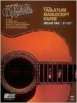Guitar Tablature Manuscript Paper - Deluxe: Manuscript Paper - Thomas Da Lloyd