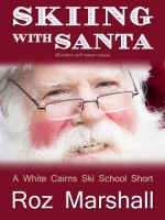 Skiing with Santa - Roz Marshall